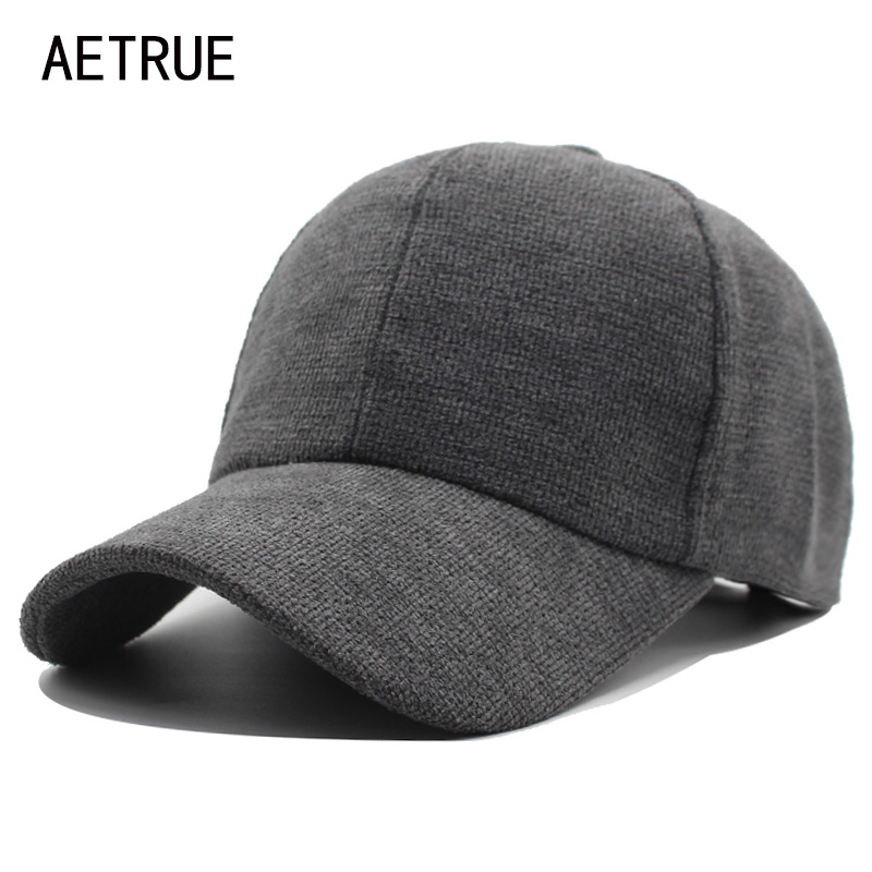 AETRUE Fashion Baseball Cap Men Women Snapback Caps Casquette Bone Hats For Men Adjustable Casual Plain Flat Blank Cotton Hat aetrue winter knitted hat beanie men scarf skullies beanies winter hats for women men caps gorras bonnet mask brand hats 2018