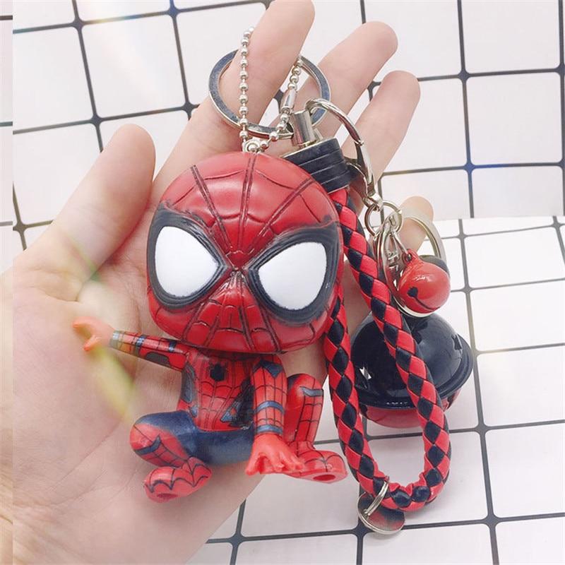 7,5 модные фильма Человек-паук брелок герой выпускников автомобилей брелок кулон паук игрушки, брелки Для женщин Для мужчин JewelryTrinket