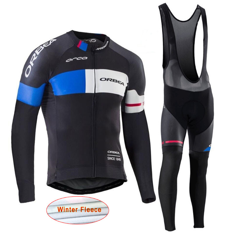 ropa ciclismo Winter thermal fleece Orbea cycling jersey MTB bike Long Sleeve maillot hombre men cycle clothing Sportwear I14 tinkoff saxo bank cycling jersey ropa clismo hombre abbigliamento ciclismo men s cycling clothing mtb bike maillot ciclismo d001