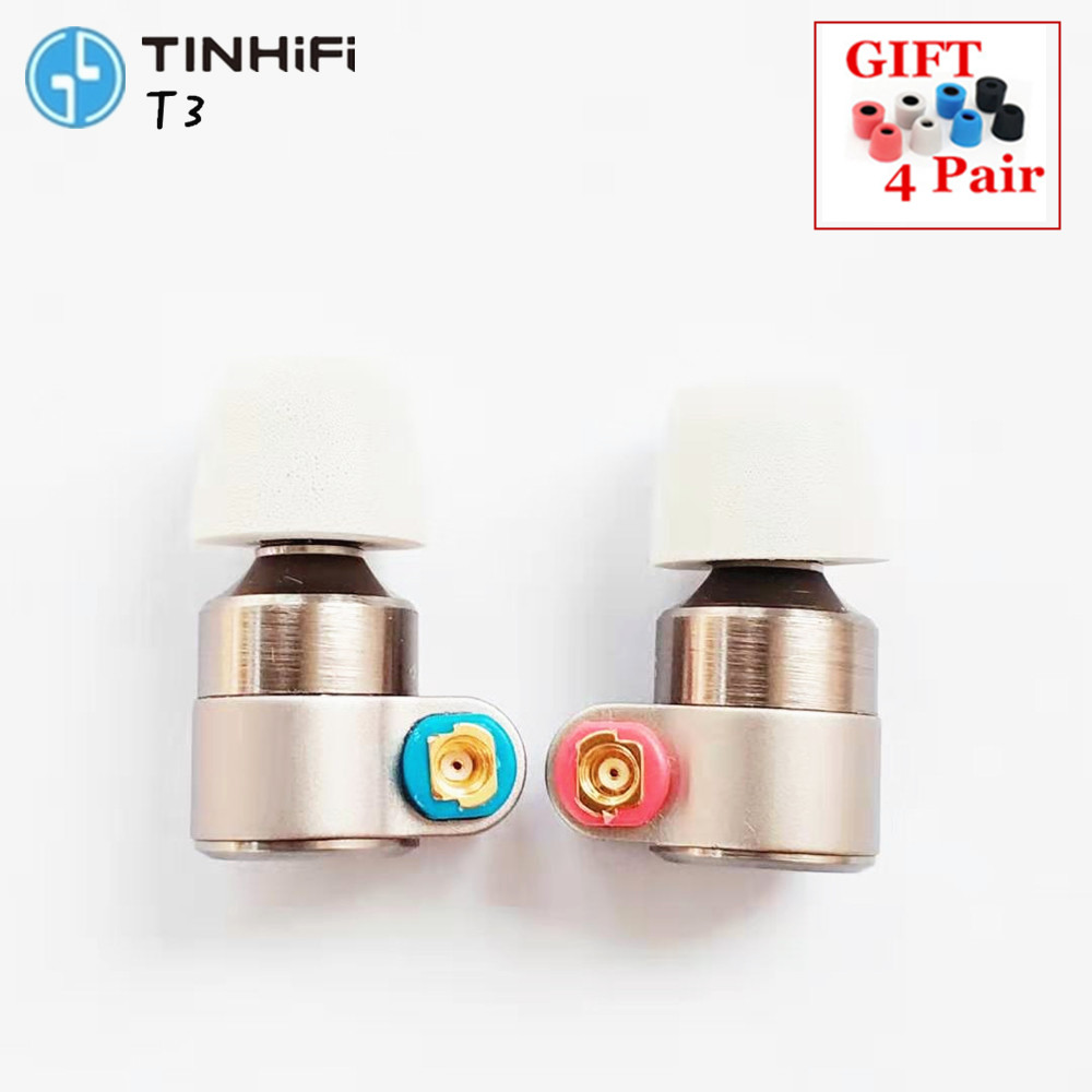 Tin Audio T3 In Ear Earphone 1DD 1BA Knowles Drive HIFI Earphone Metal Earphone Earbud with