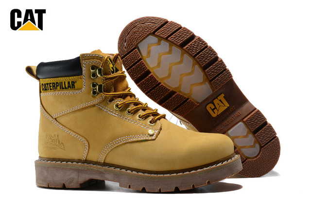 f91016e1a1c6 CAT Footwear Original Men Classic Colorado Genuine Cow Leather Ankle Anti  Slip Rubber Crystal Bottom Boots Male Casual Shoes