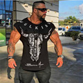 HETUAF 2019 new brand clothing gym tight T-shirt muscle fitness brother men's fitness T-shirt men's fitness summer top