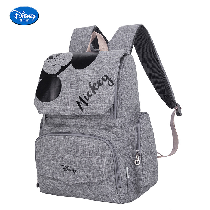 Disney Diaper baby bag for mother wet bag bolsa Mummy Maternity Nappy Stroller Bag Large Capacity Mickey and Minnie BackpackDisney Diaper baby bag for mother wet bag bolsa Mummy Maternity Nappy Stroller Bag Large Capacity Mickey and Minnie Backpack
