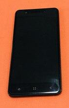 """Używany oryginalny wyświetlacz LCD + ekran dotykowy szkło Digitizer + rama dla Elephone P8 mini MT6750T Octa rdzenia 5.0"""" FHD darmowa wysyłka"""