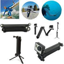 3 Way Grip Waterproof Monopod Selfie Stick Sports Camera Tripod Bracket Stand