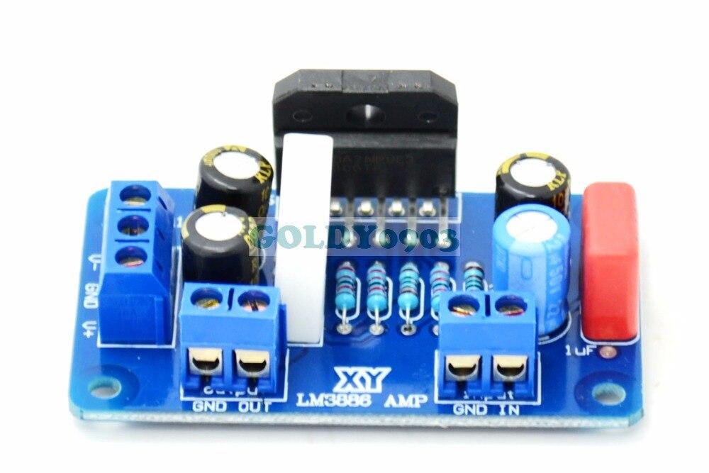 LM3886TF LM3886 Amplifier Amp NE5532 Board 1Channel 60w Finished Board tda7294 lm3886 5 1 channel pure power amp board