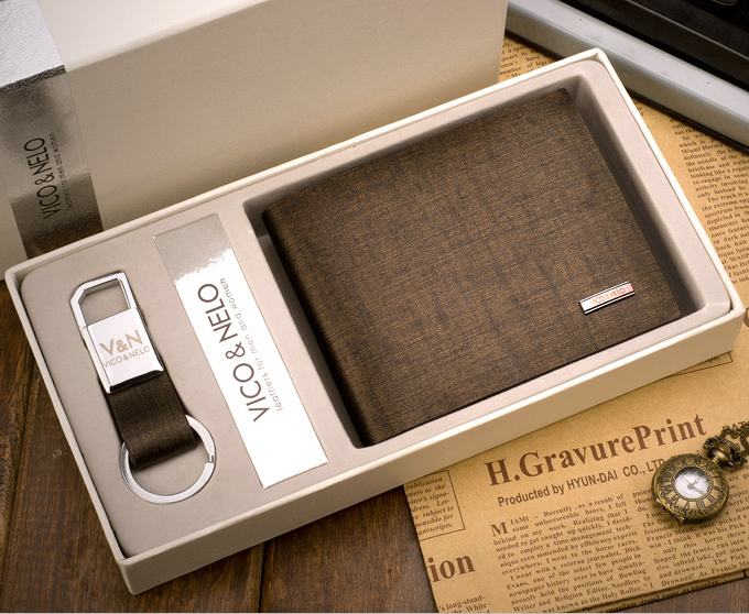 Best Gift! 2015 New Designer Bronze Gold Business Men Wallet 100 ...