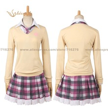 Kisstyle Moda Noragami Ebisu Kofuku COS Ropa Cosplay Traje de Uniforme, Modificado Para Requisitos Particulares Aceptado