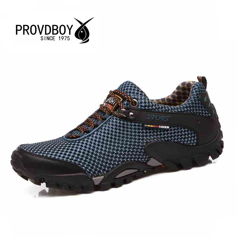 2017 NEW men spring summer outdoor hiking breathable mesh trekking sport camping mens sneakers hunting top quality walking shoes graffiti uk national flag