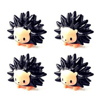 Medicom Toy KAWS Original Fake Cartoon Black Hedgehog Street Art PVC Action Figure Model Toy G1410
