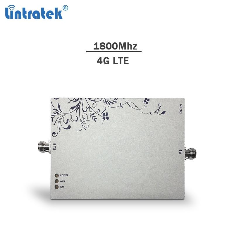 Lintratek 2g 4g 1800Mhz celular signal booster repetidor gsm 4g lte impulsionador Banda 75dBi 3 móvel DCS amplificador de sinal #7