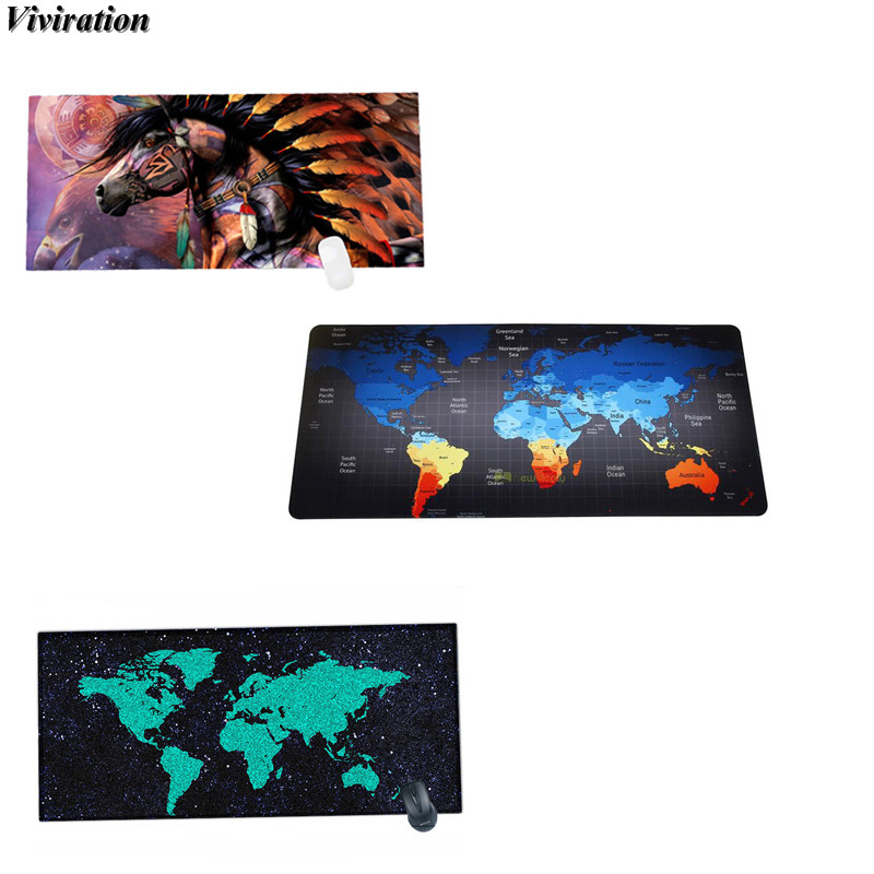 Viviration New Arrival 90*40CM Gaming Mouse Pad Locking Edge Large Mouse Mat PC Computer Laptop Mousepad For Overwatch Gaming