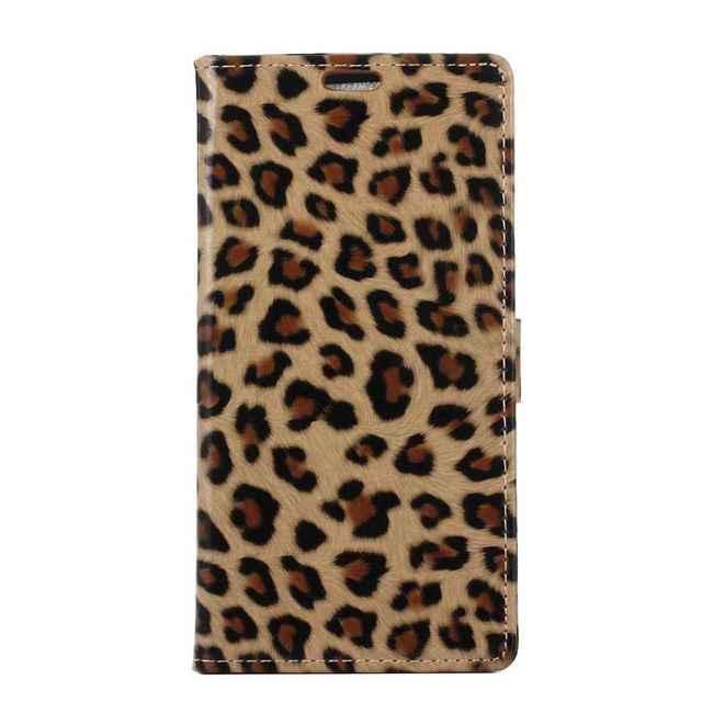 For samsung J7 prime Case Coque Leopard Print Flip Leather case cover  Fashion for Women Girls 9b7dab764e