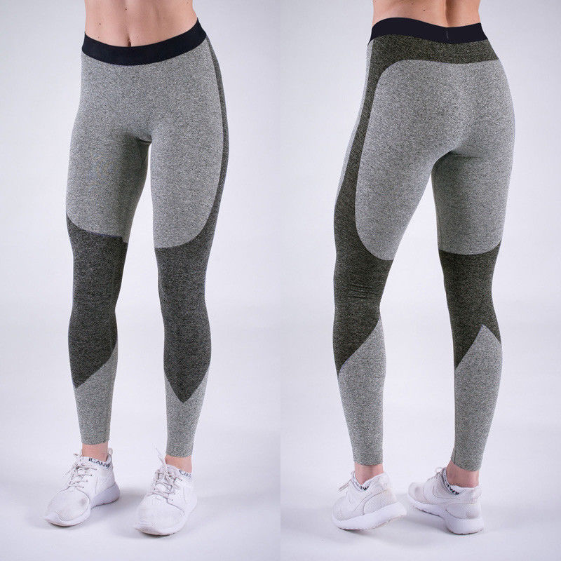 2017 Brand New Women Yoga Fitness Leggings Running Gym Stretch Sports Work Out Pants Trousers Yoga Pants