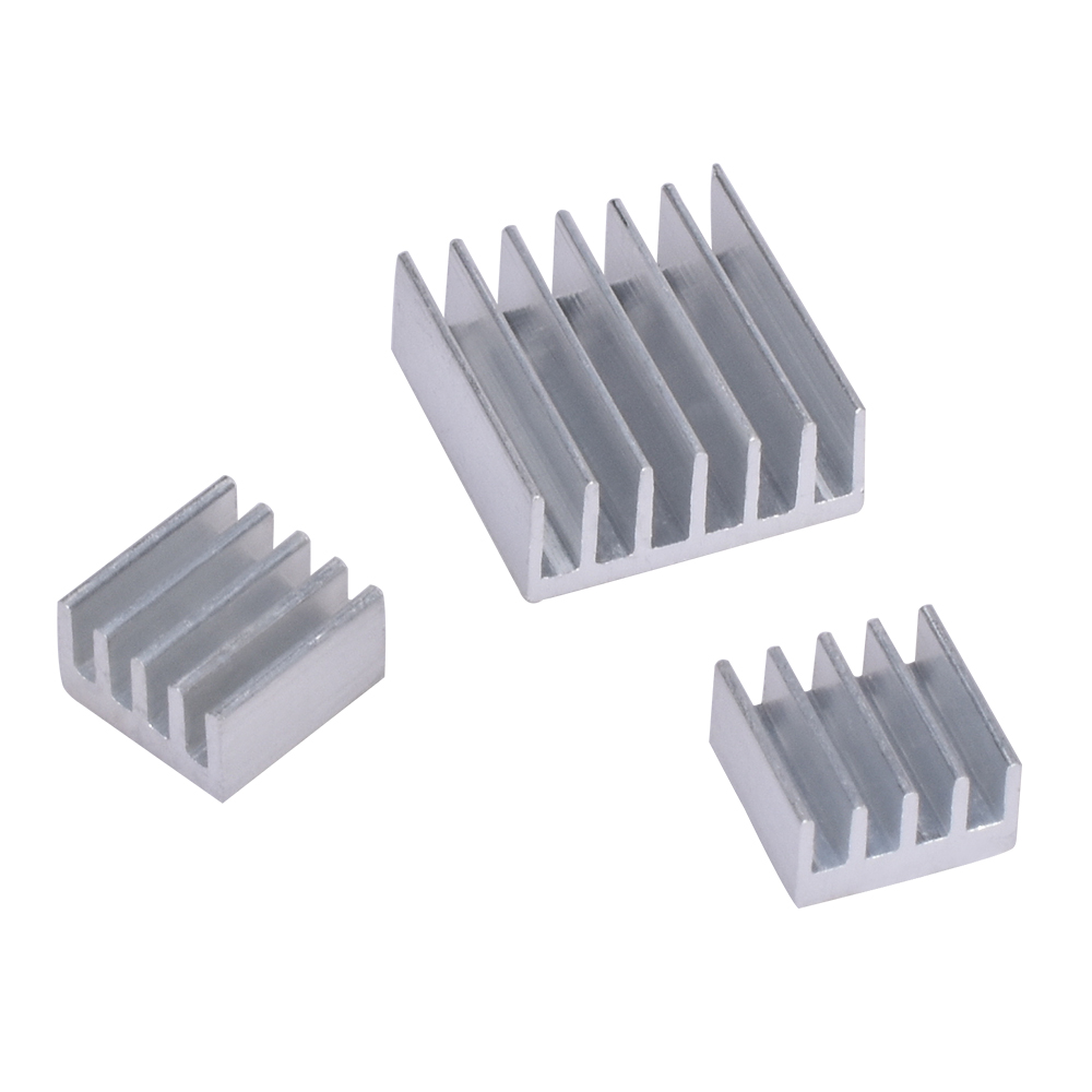 3000pcs 1000 lots aluminum Heat Sinks For Raspberry Pi 512M Model B plus Computer for arduino
