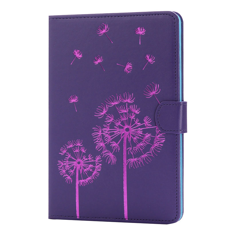 Leather Case For Samsung Galaxy Tab A 8.0 T350 T351 T355 P350 Cover Fundas Tablet Flowers Pattern Soft Silicone Protective Shell
