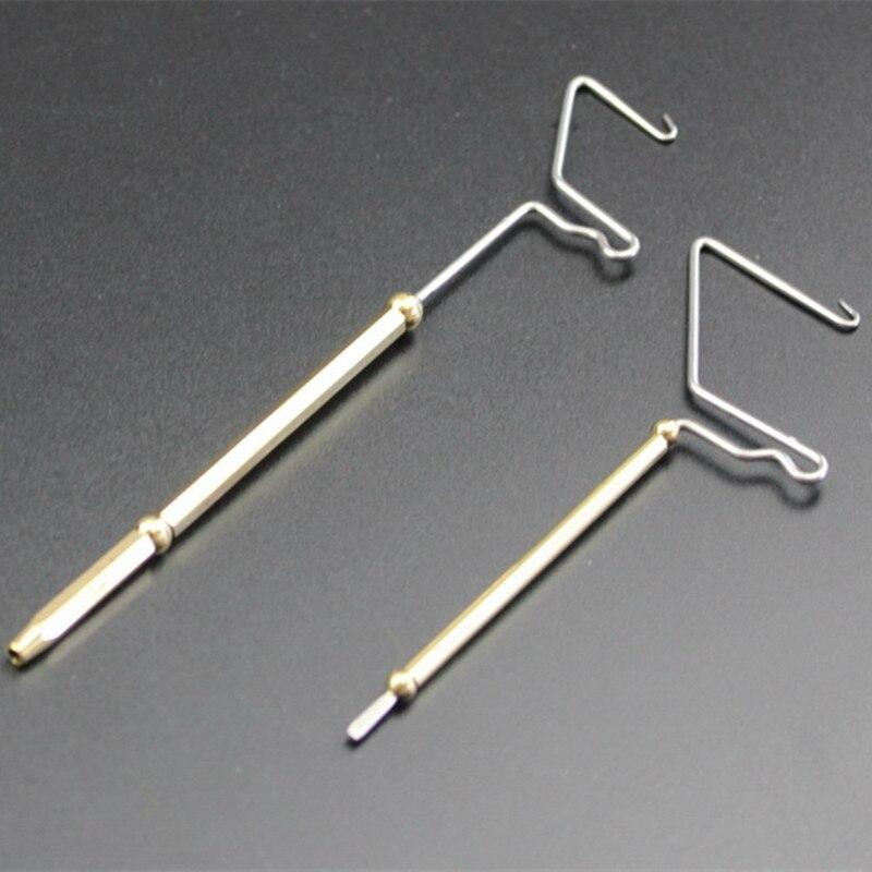 Два размера Ротари whip финишер встроенный нахлест из лучших латунный материал/узел связывать устройства и мушек инструменты приманки она по... ...