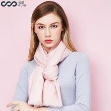 Lana mujeres bufanda sólida moda invierno de las mujeres de acrílico bufandas  mujeres 2018 nuevo lujo borlas Foulard Femme clási. 2a538cc571a