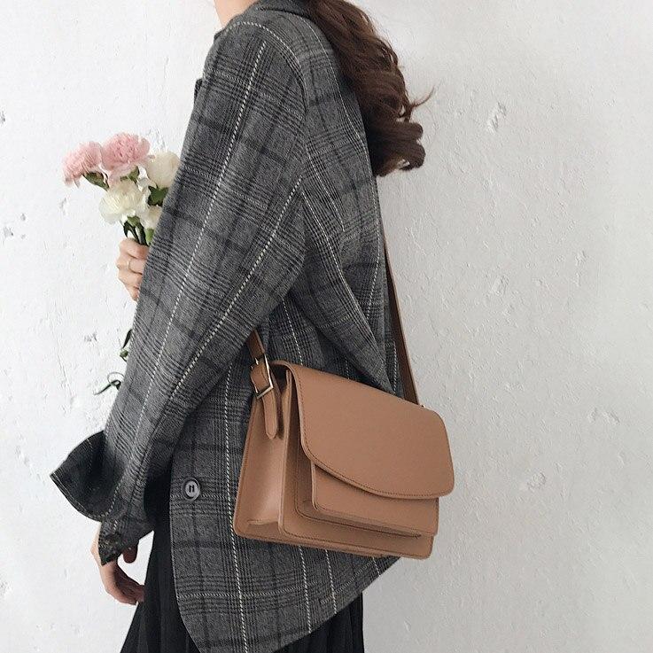 Hot !Fashion Women's Small Handbag PU Leather Casual Shoulder Messenger Small Bag Female Handbag Vintage  W-59695A