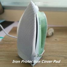Новая термостойкая железная крышка коврик для обуви гладильная доска для защиты тефлоновая ткань 23x15,5 см