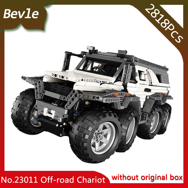 Bevle Store Lepin 23011 2818pcs Technic Series Electric motor Siberian off-road chariotBuilding Blocks 5360 For Children Toys managing the store