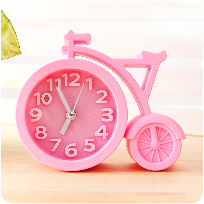 Candy färger Creat Portable mini Mute barn student klocka cykel - Heminredning - Foto 4