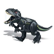 Jurassic World 2 Brutal Raptor Dinosaur Tyrannosaurus Building Blocks Figures Kids Gift Toys Model