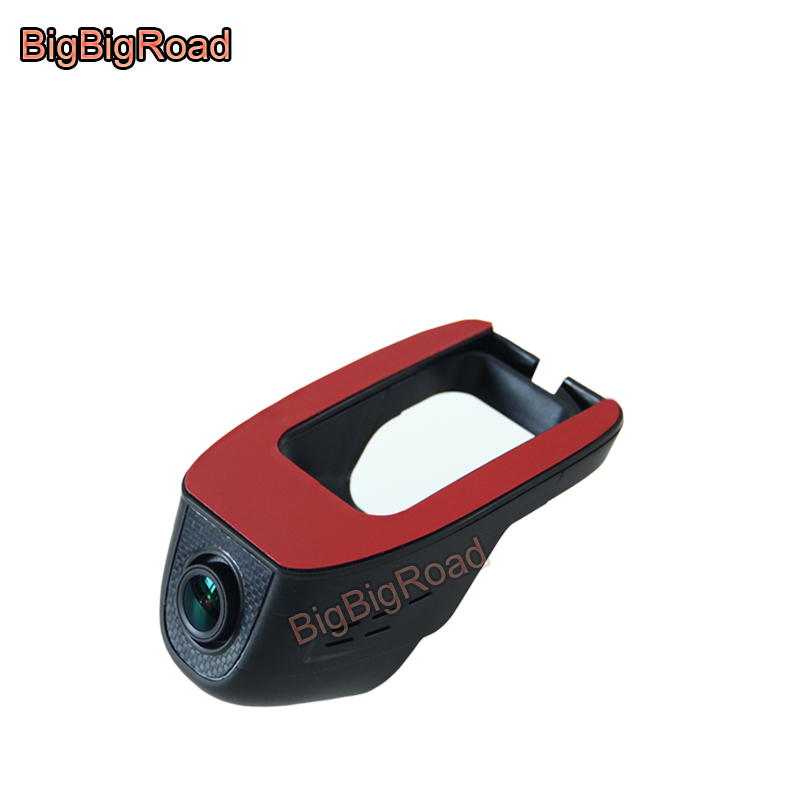 BigBigRoad Car wifi DVR Video Recorder For Hyundai Elantra Mistra Celesta Santa fe Tucson Reina Sonata IX25 IX35 Verna RV Accent bigbigroad for hyundai tucson santa fe sonata 9 i30 veloster ix25 car wifi dvr dual cameras car black box video recorder dashcam