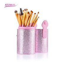 Compare Prices 20pcs/Set Professional Makeup Brush Foundation Eye Shadows Lipsticks Powder Make Up Brushes Tools With Pink Tube Box