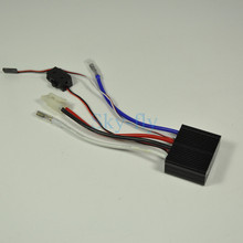 24V two-way Electronic Governor With Brake Brush ESC Electric Speed Controller For Cars, Boats, Tanks