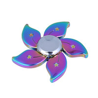 Rainbow Spinner Tri Fidget Hand Autism Finger For Adults Kids Toy Focus ADHD Toy