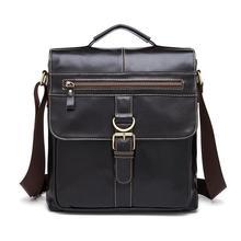 Leather Men's Messenger Bags Cowhide Men's single shoulder bag Men Crossbody bag