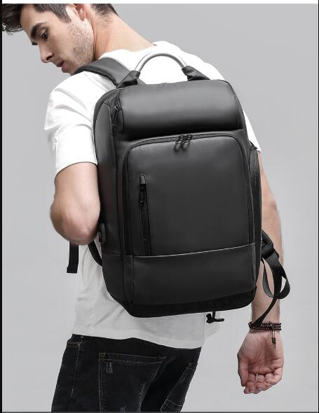15.6 Laptop Backpack Black Business Male Mochila USB Charging Functional Rucksack Waterproof Leisure Travel Backpack Men estel mohito бальзам для волос манго 200 мл