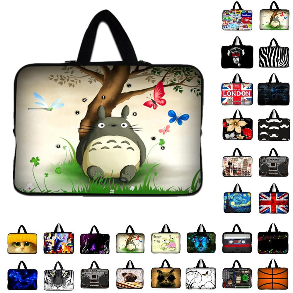 7 10 11.6 13.3 14.4 15.6 17.3 inch Totoro Laptop Bag tablet sleeve Case For Macbook Air/Pro/Retina Computer cover original a1706 a1708 lcd back cover for macbook pro13 2016 a1706 a1708 laptop replacement