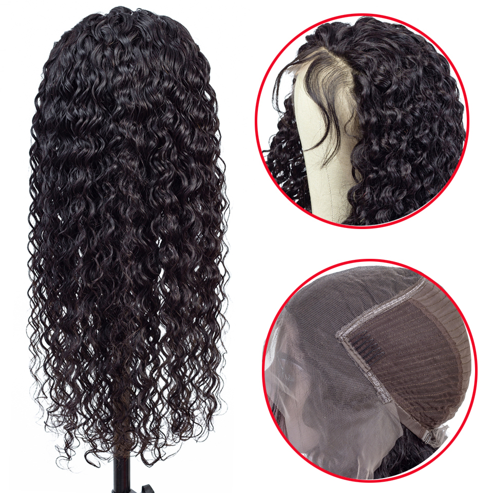 Superfect 13 6 Deep Part Lace Front Human Hair Wigs for Black Women Pre Plucked Bleached