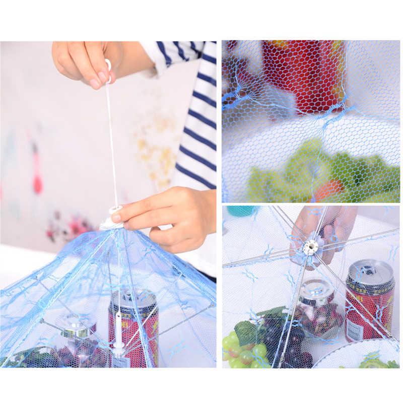 Складная сеть всплывающая Крышка для еды купольная палатка зонтик кружевные вещи для кухни пищевой протектор бытовые и кухонные товары зеленый