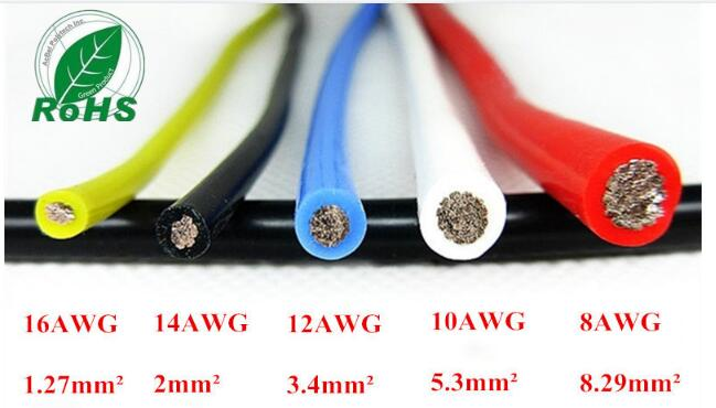 10AWG Flexible Silicone Wire RC Cable 10AWG 1050/0.08TS Outer Diameter 5.5mm 5.3mm Square Model airplane Wire 10awg flexible silicone wire rc cable 10awg 1050 0 08ts outer diameter 5 5mm 5 3mm square model airplane wire
