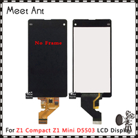 DHL 10Pcs/lot High Quality For Sony Xperia Z1 Compact Z1 Mini M51W D5503 LCD Display Screen With Touch Screen Digitizer Assembly