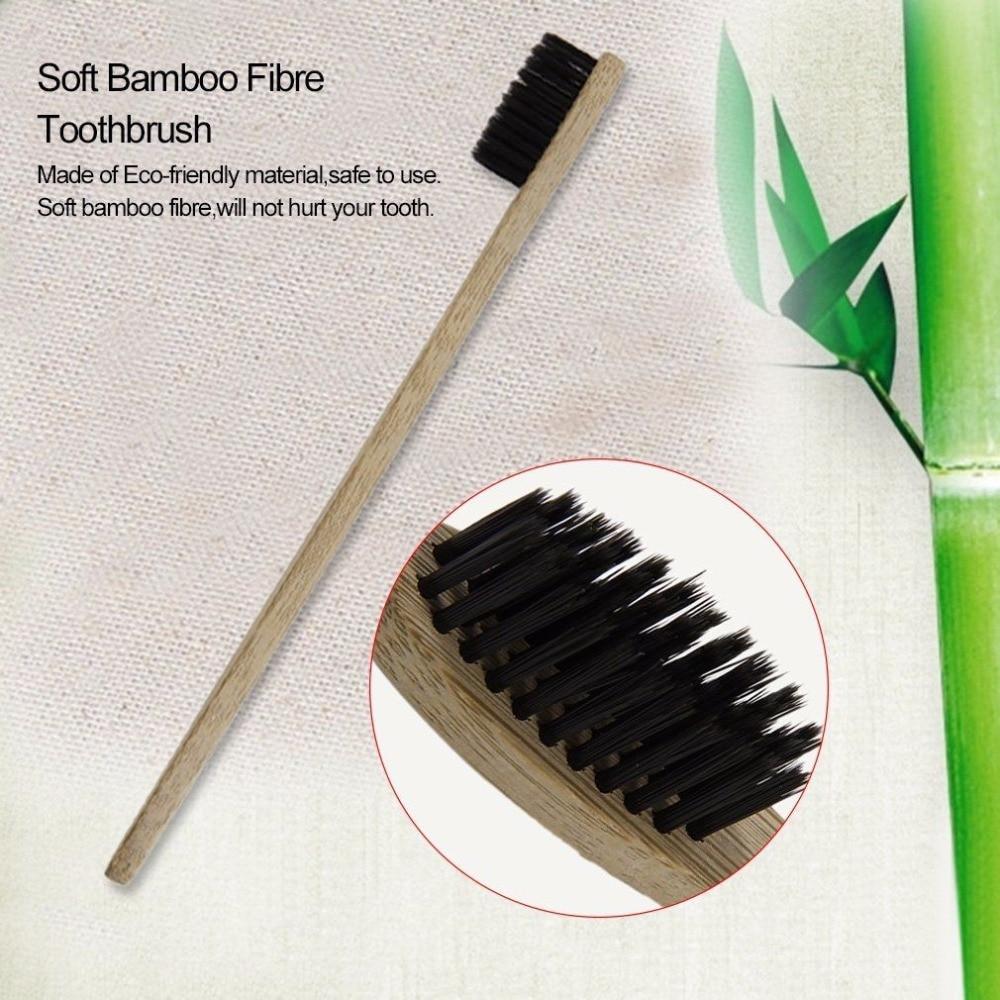 Genkent 1 PCS Dewasa Ramah Lingkungan Kayu Sikat Gigi Novelty Bambu sikat Gigi Kebersihan mulut Sikat Gigi
