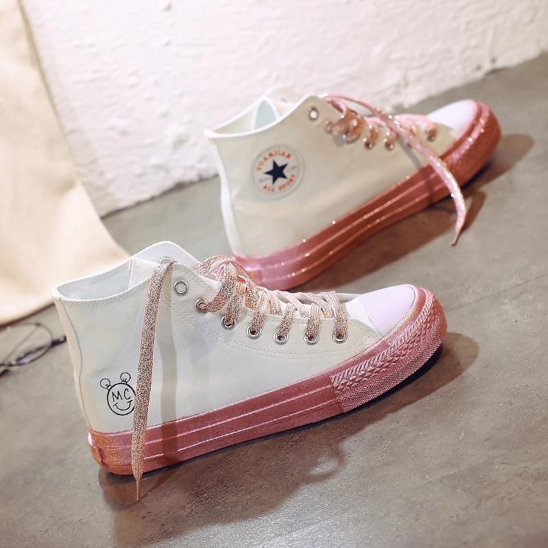 fall shoes high top sneakers schoenen vrouw zapatilla ...