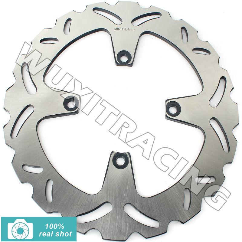 Motorcycle 256mm New Rear Brake Disc Rotor for Honda VFR 750 F 90-97 VFR 800 INTERCEPTOR V-TEC 98 99 00 01 CROSSRUNNER 800 11-14