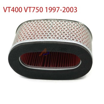 Air Filter Intake Cleaner AirFilter for Honda Shadow 400 750 ACE Deluxe Spirit VT400 VT750 1997 2003 2002 2001 2000 1999 1998 image