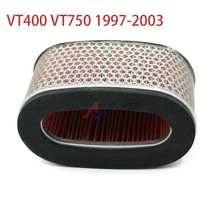 Air Filter Intake Cleaner AirFilter for Honda Shadow 400 750 ACE Deluxe Spirit VT400 VT750 1997 2003 2002 2001 2000 1999 1998