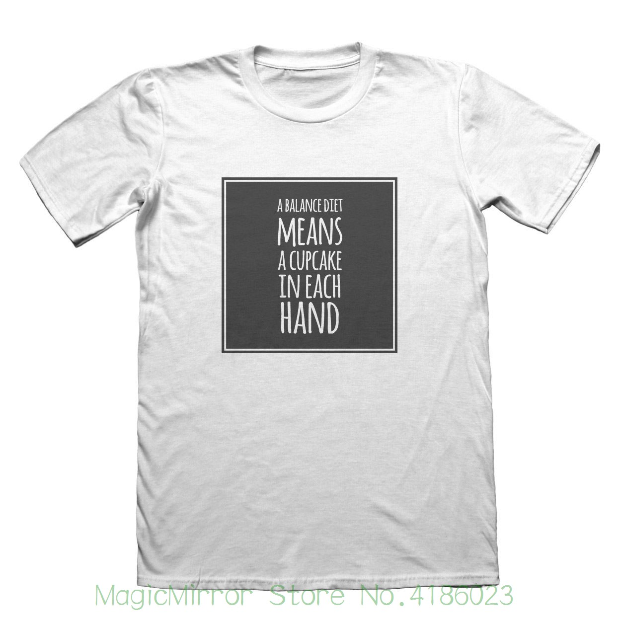 A Balanced Diet T-shirt - Mens Fathers Day Christmas Gift #7552 Cool T-shirts Designs Best Selling Men