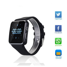2016 New Bluetooth Smart Watch X6 Smartwatch sport watch For Apple iPhone Android Phone With Camera FM Support SIM Card T30