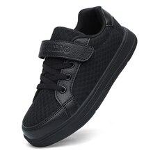 Летняя детская спортивная обувь, Нескользящие удобные кроссовки для детей, дышащая обувь для скейтбординга, износостойкая обувь для мальчиков и девочек