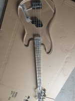 Electric Bass/All Acrylic Four String Bass/Customizable