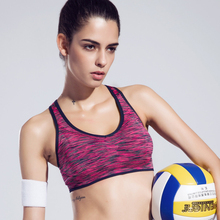 Space Dyeing Women Yoga T-Shirts Level-4 Shockproof Fitness Wide Straps Feminino Sports Tank Top Compression Training Sportswear