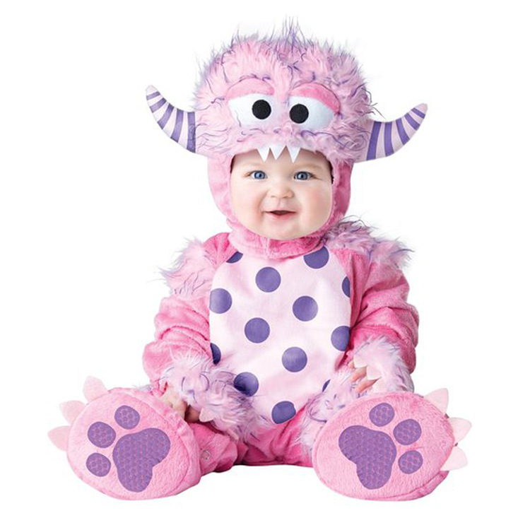 Good Quality Animal Romper Jumpsuits Baby Boys Girls Christmas Halloween Costume Cosplay Romper Infant Cartoon Pajamas Clothing