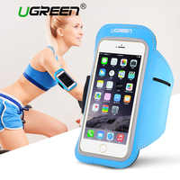 Ugreen Sport Arm band Case for iPhone 6 6s 5 Waterproof Running Phone Case for Samsung Galaxy Huawei Phone Pouch Cover Arm Band